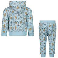 Bild von Moschino MUK037 Baby-Trainingsanzug Hellblau