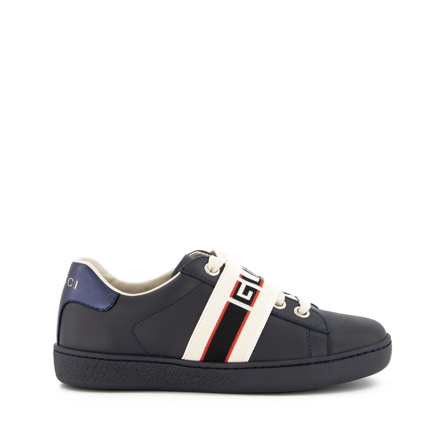 Picture of Gucci 553053 kids sneakers navy