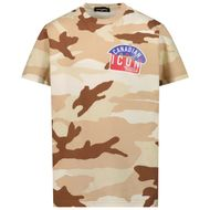 Afbeelding van Dsquared2 DQ0253 kinder t-shirt army