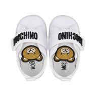 Afbeelding van Moschino 67339 babysneakers wit