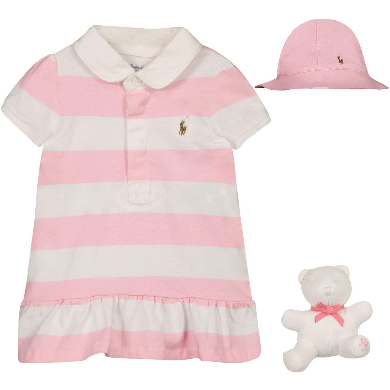 Picture of Ralph Lauren 310836334 baby set pink