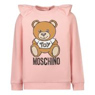 Afbeelding van Moschino MAF01K baby trui licht roze