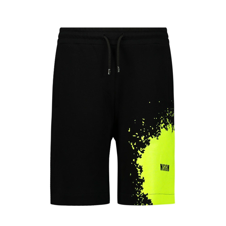 Afbeelding van MSGM MS027615 kinder shorts zwart