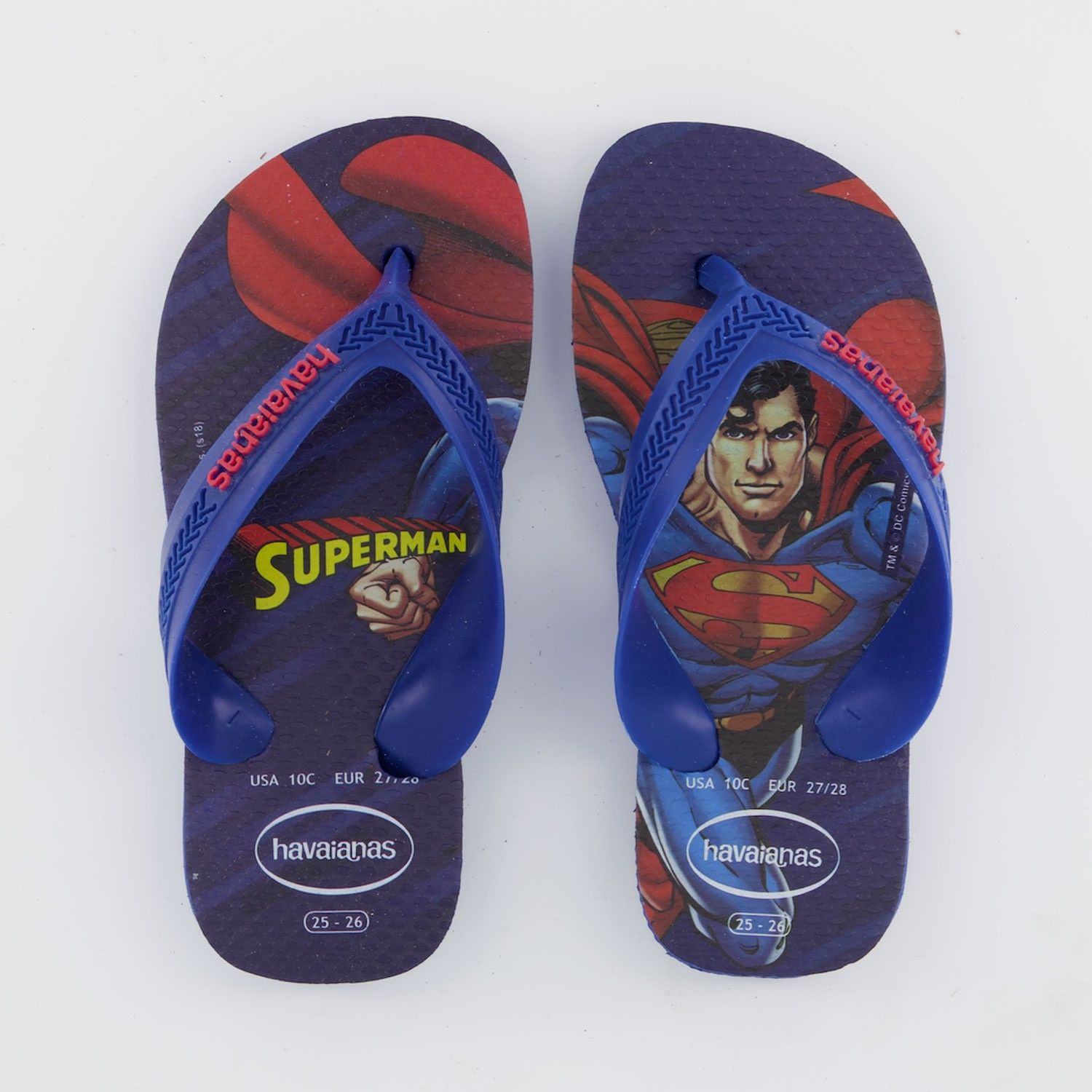 Picture of Havaianas 4130302 kids flipflops blue