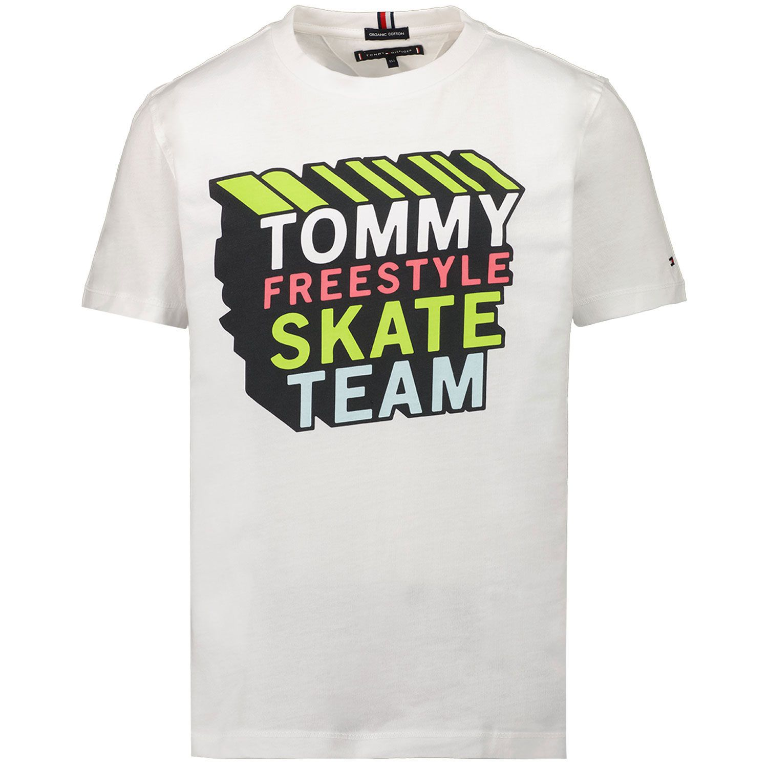 Picture of Tommy Hilfiger KB0KB06520 kids t-shirt white
