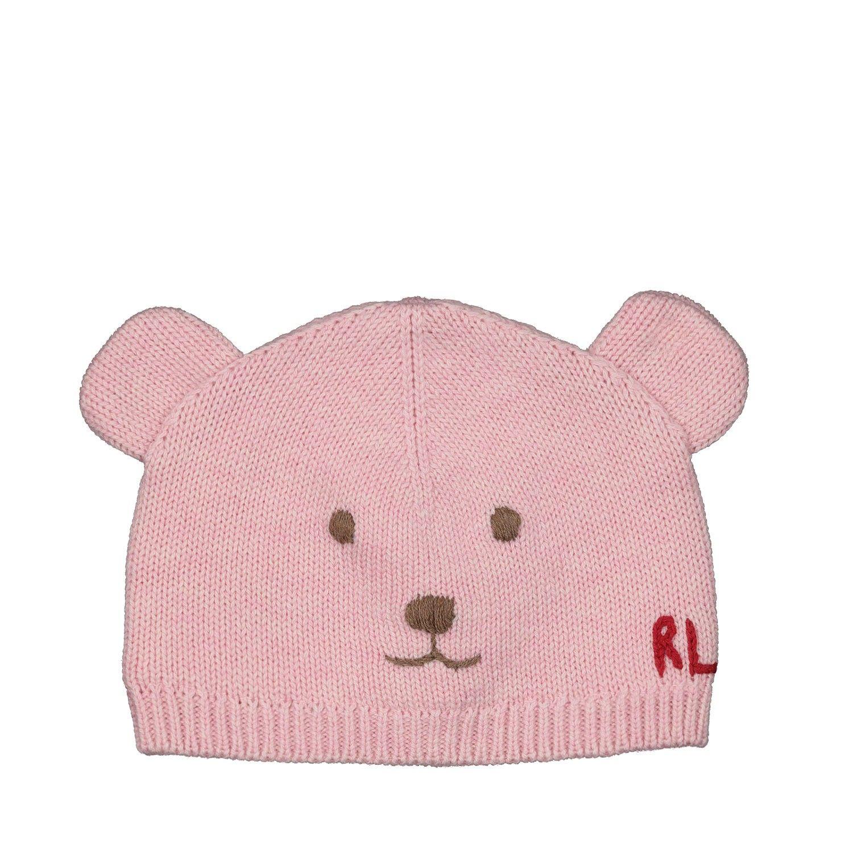 Afbeelding van Ralph Lauren 717235 babymutsje licht roze