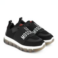 Picture of Moschino JA15145 womens sneakers black