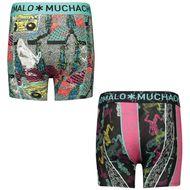 Bild von Muchachomalo BOOMB1010 Kinderunterwäsche Grau
