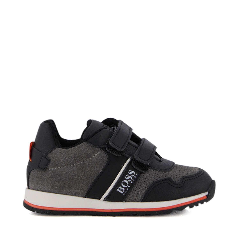Afbeelding van Boss J09139 kindersneakers grijs