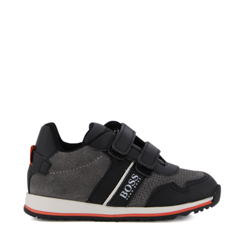 Picture of Boss J09139 kids sneakers grey