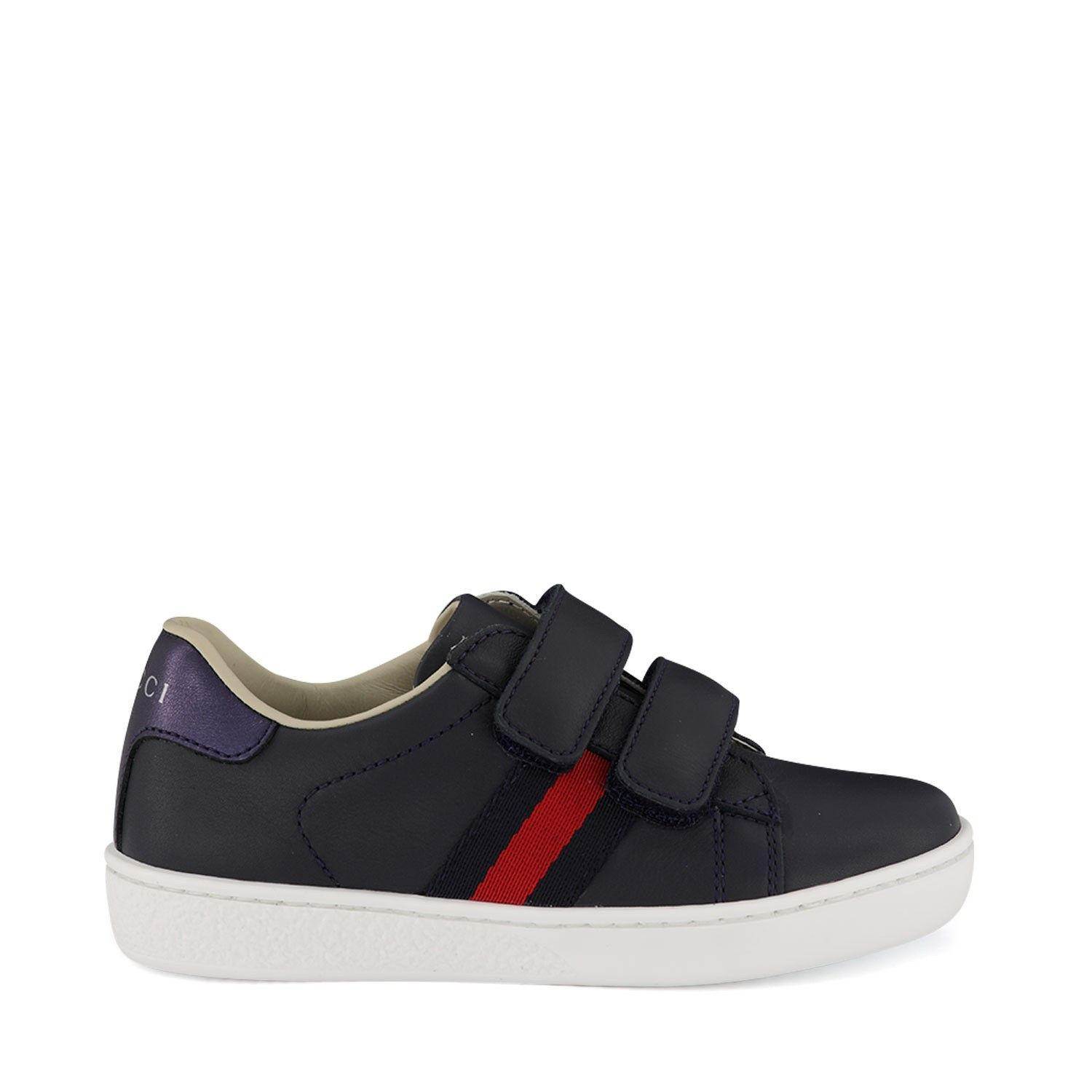 Picture of Gucci 455447 kids sneakers navy