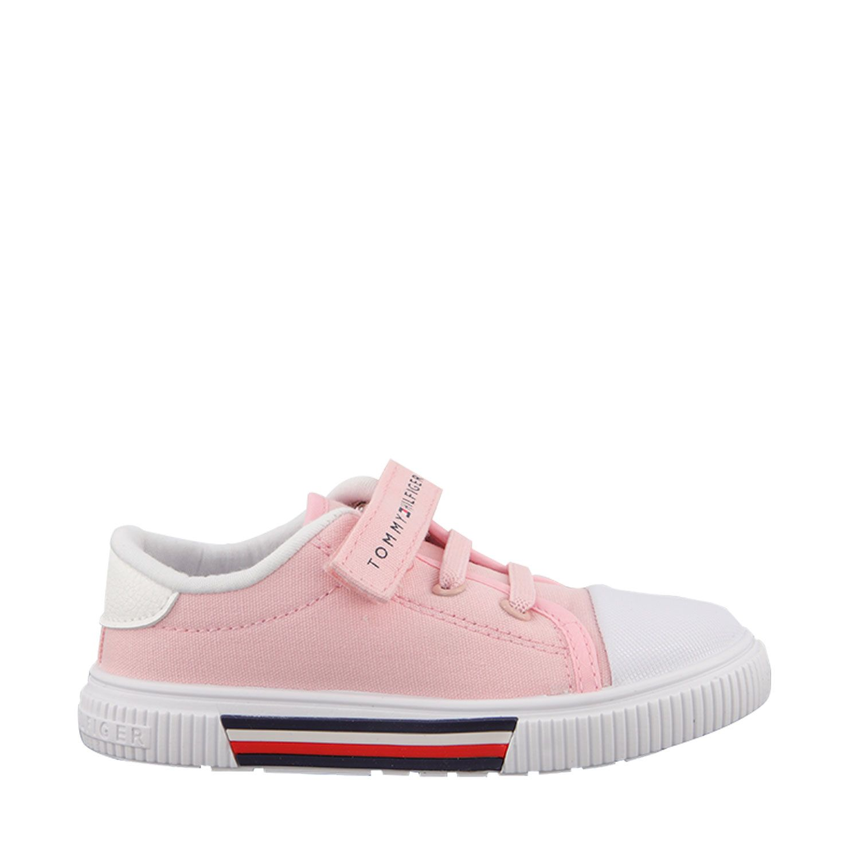 Afbeelding van Tommy Hilfiger 31007 kindersneakers licht roze