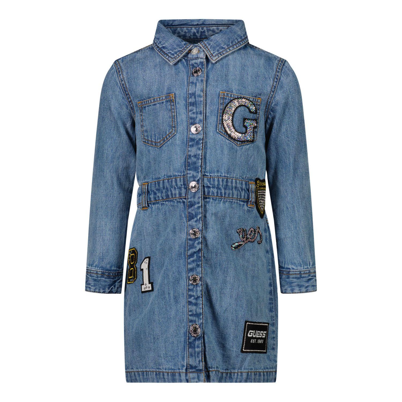 Afbeelding van Guess A1YK10 babyjurkje jeans