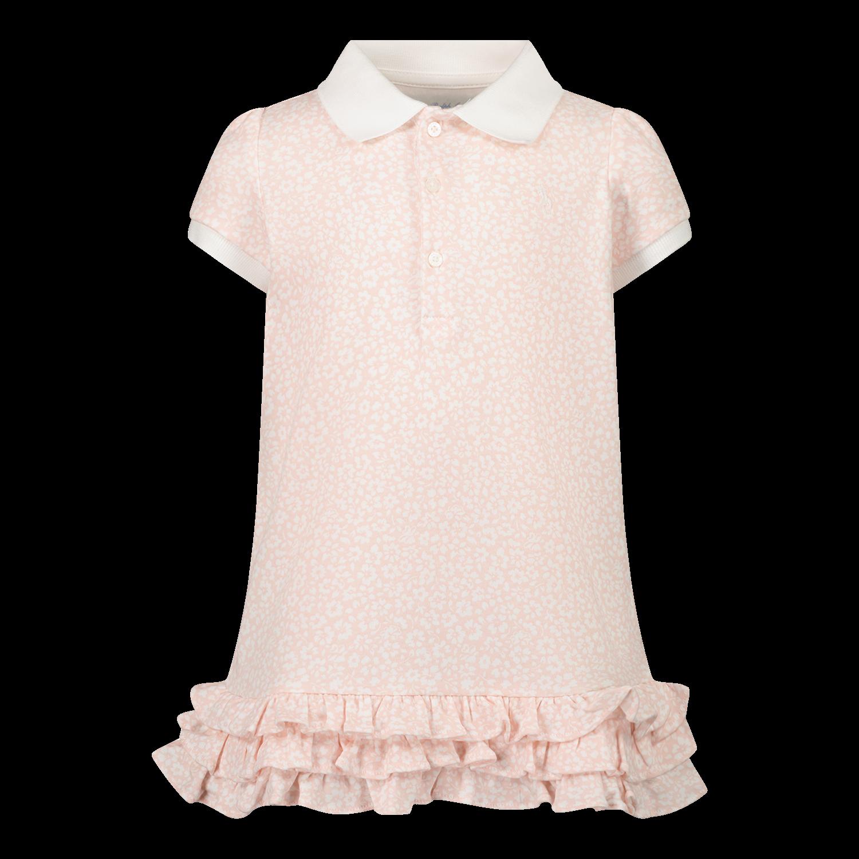 Afbeelding van Ralph Lauren 310833389 babyjurkje licht roze
