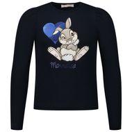 Afbeelding van MonnaLisa 118629P8 kinder t-shirt navy