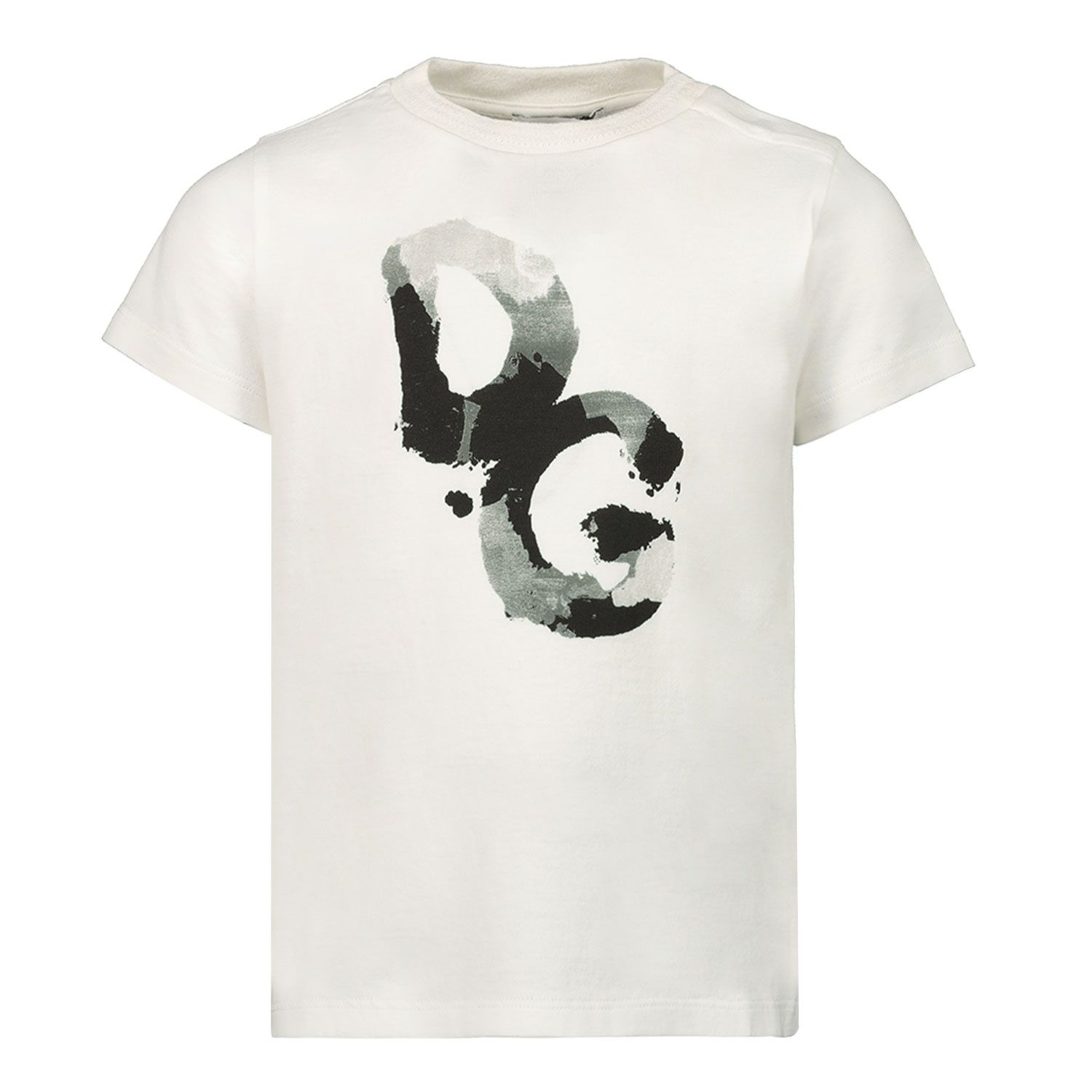 Picture of Dolce & Gabbana L1JT7W G7YFK baby shirt white