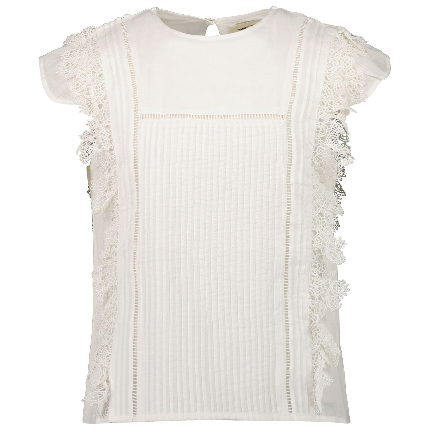 Picture of Zadig & Voltaire X15261 kids t-shirt off white