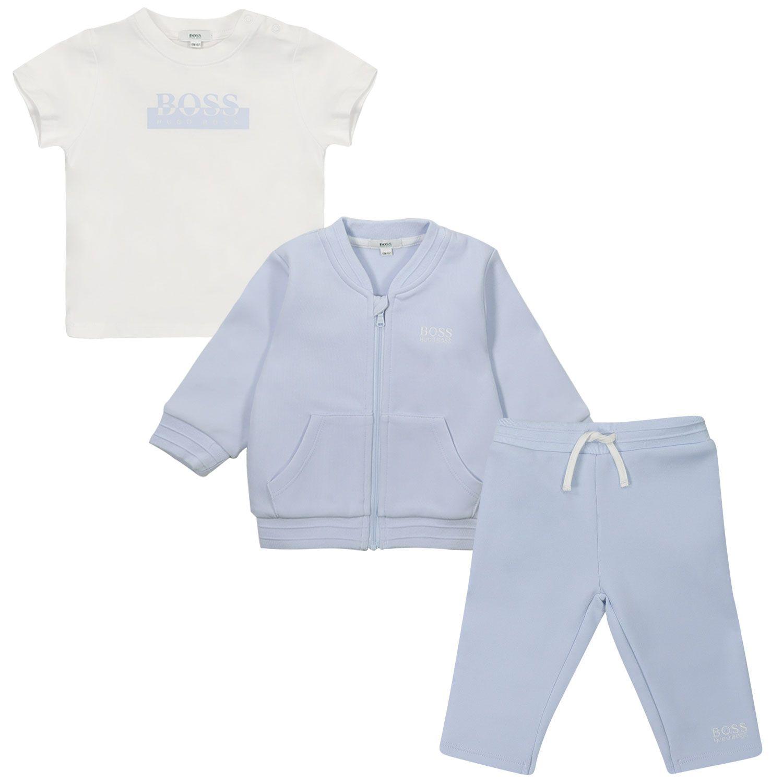 Bild von Boss J98307 Baby-Trainingsanzug Hellblau