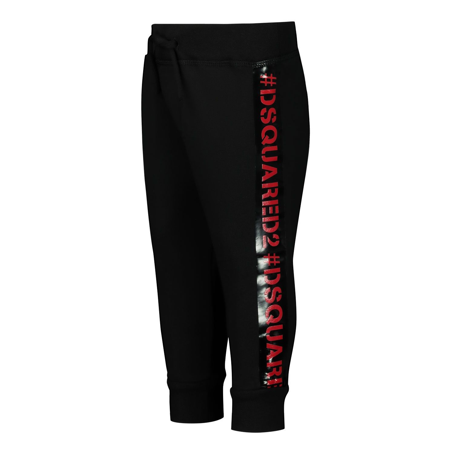 Picture of Dsquared2 DQ041C baby pants black
