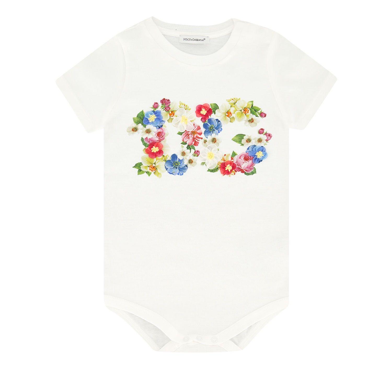Bild von Dolce & Gabbana L2JOS4 / G7VVX Baby-T-Shirt Weiß