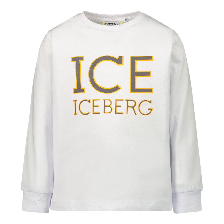 Afbeelding van Iceberg TSICE0314B baby t-shirt wit