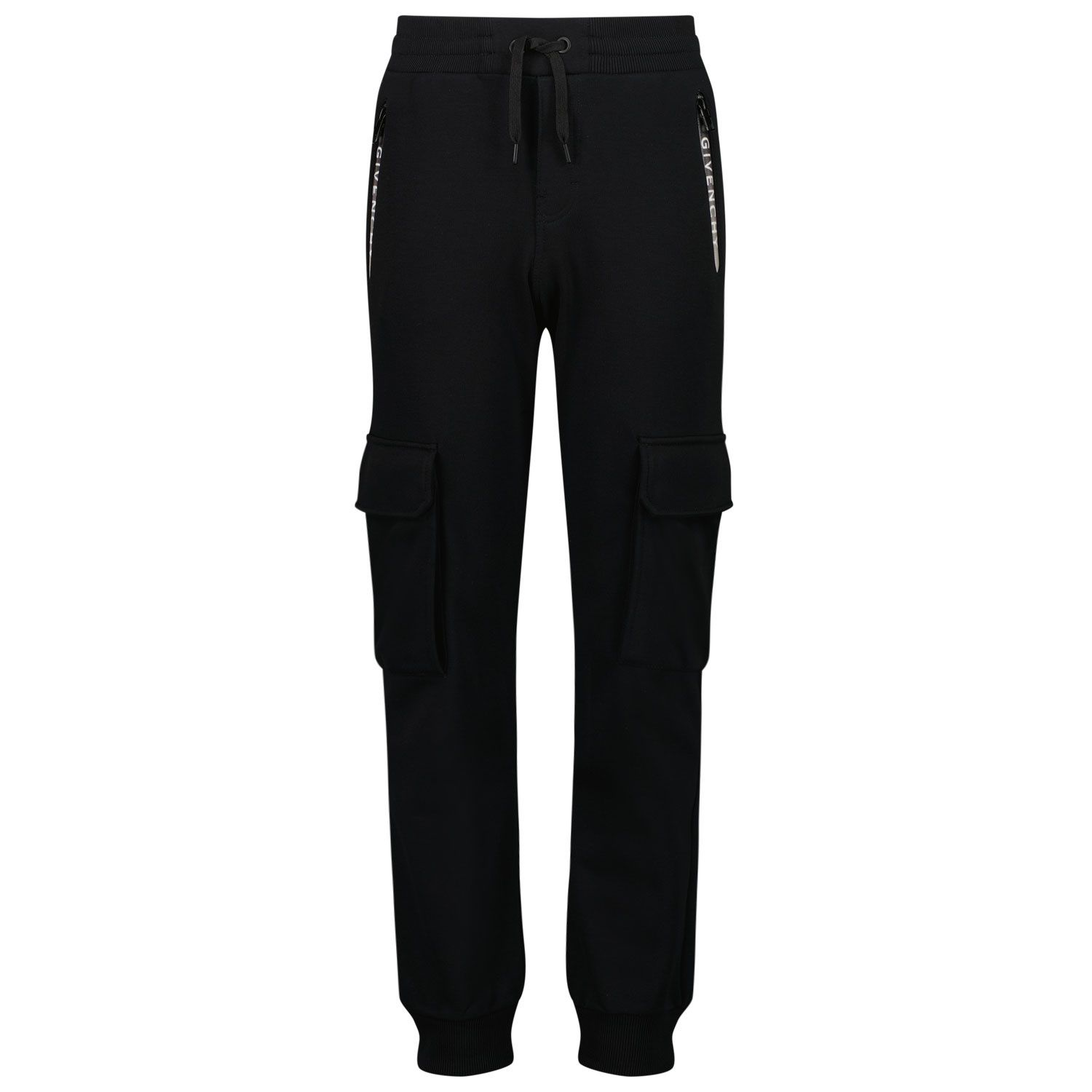 Picture of Givenchy H24115 kids jeans black