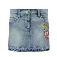 Afbeelding van MonnaLisa 396706RU baby rokje jeans