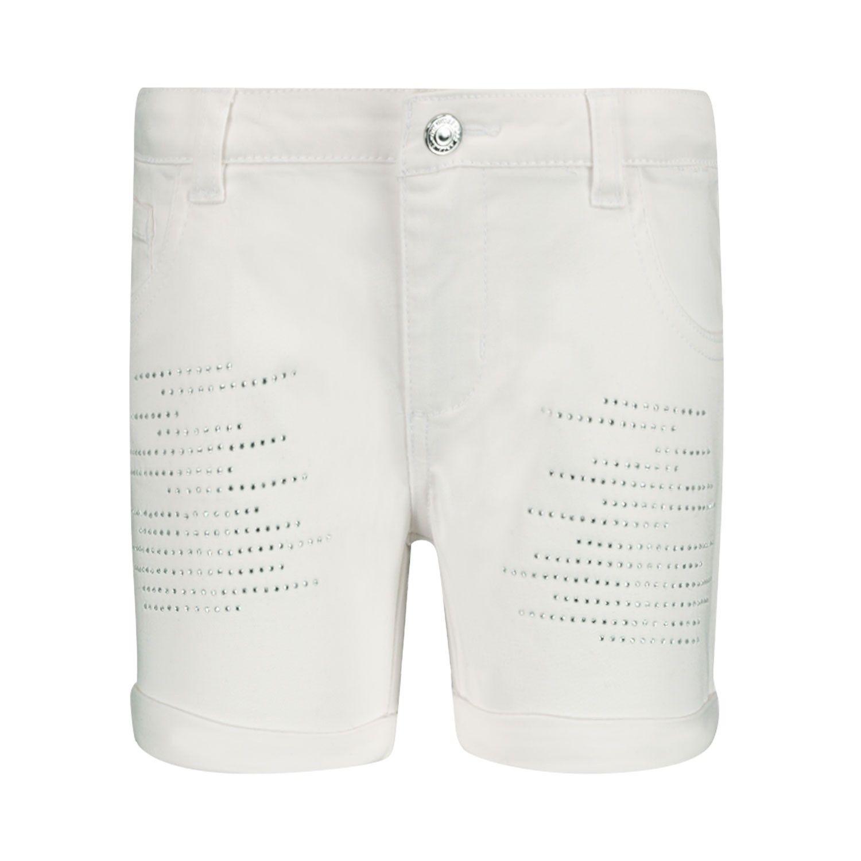 Afbeelding van Guess K02D00W7RQ0 kinder shorts wit