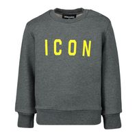 Picture of Dsquared2 DQ03UB baby sweater dark gray
