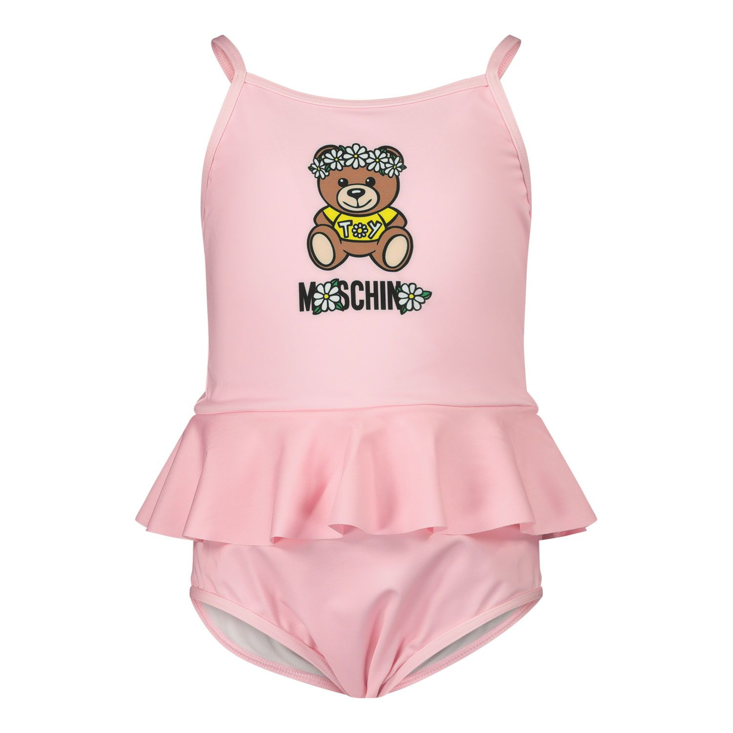 Picture of Moschino MDL00E baby swimwear pink