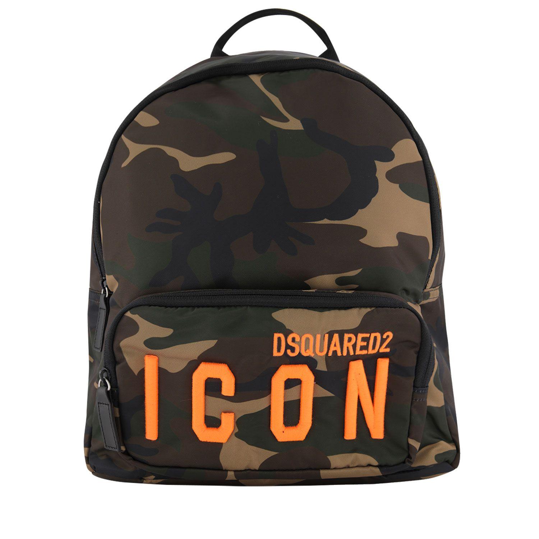 Bild von Dsquared2 DQ04I7 Kindertasche Camouflage