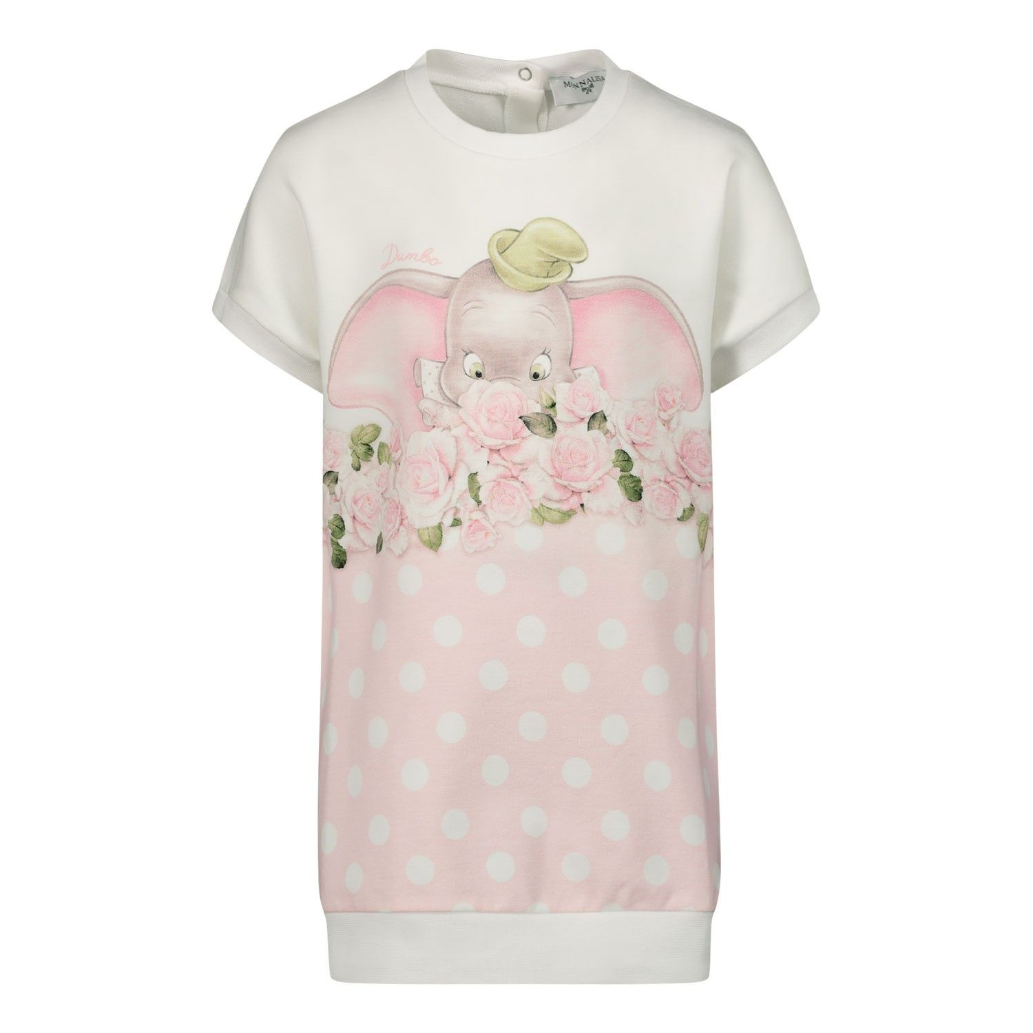 Picture of MonnaLisa 395905 baby dress light pink