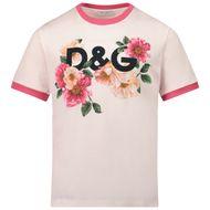 Bild von Dolce & Gabbana L5JTBE G7YFD Kindershirt Hellrosa