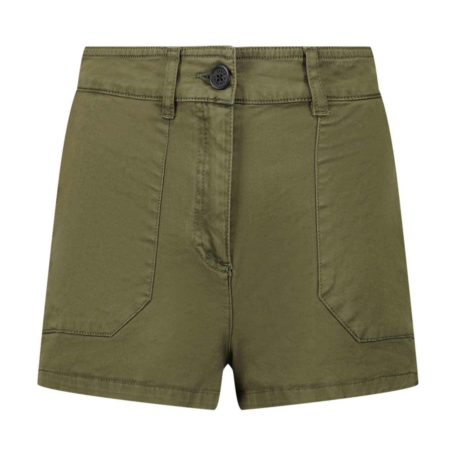 Picture of Zadig & Voltaire X14110 kids shorts army