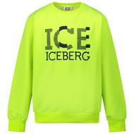 Afbeelding van Iceberg MFICE0336J kindertrui fluor geel