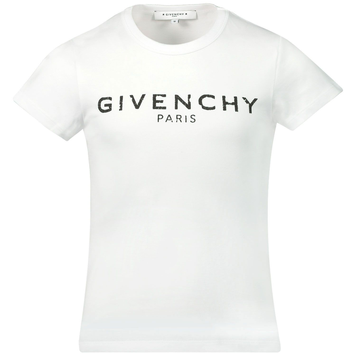 Picture of Givenchy H15185 kids t-shirt white