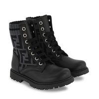 Picture of Fendi JMR382 kids boots black