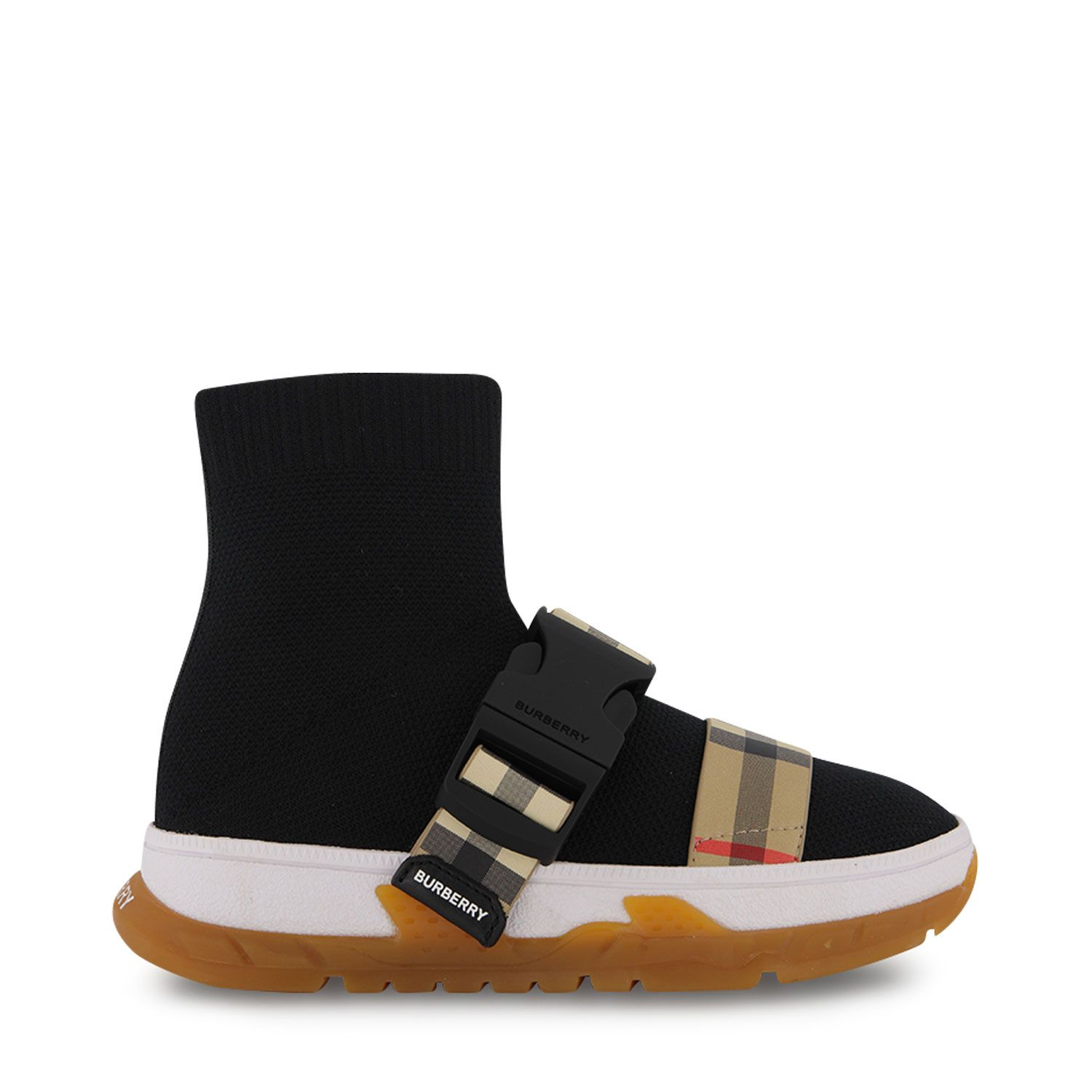 Picture of Burberry 8041008 kids sneakers black