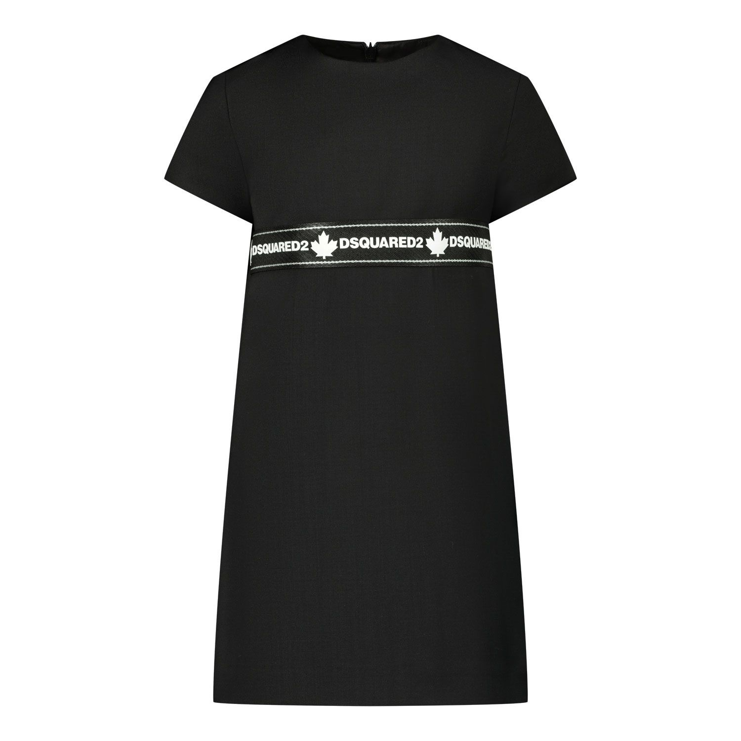 Picture of Dsquared2 DQ04EA baby dress black
