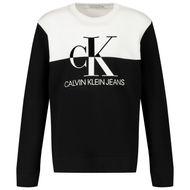 Afbeelding van Calvin Klein IB0IB00566 kindertrui zwart/wit