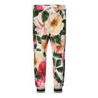 Picture of Dolce & Gabbana L2JP4F FSGUD baby pants pink