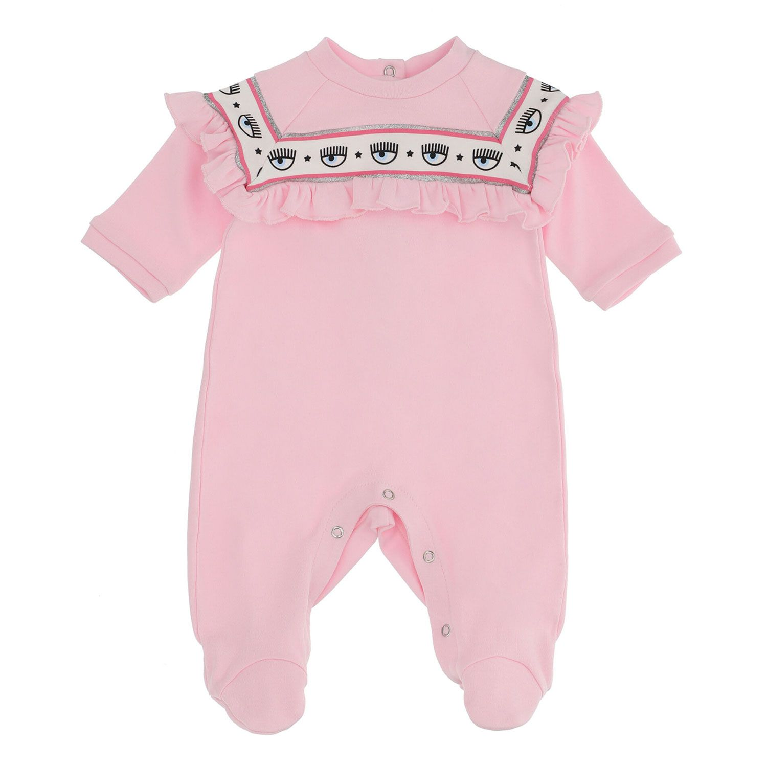 Picture of Chiara Ferragni 558212 baby playsuit pink