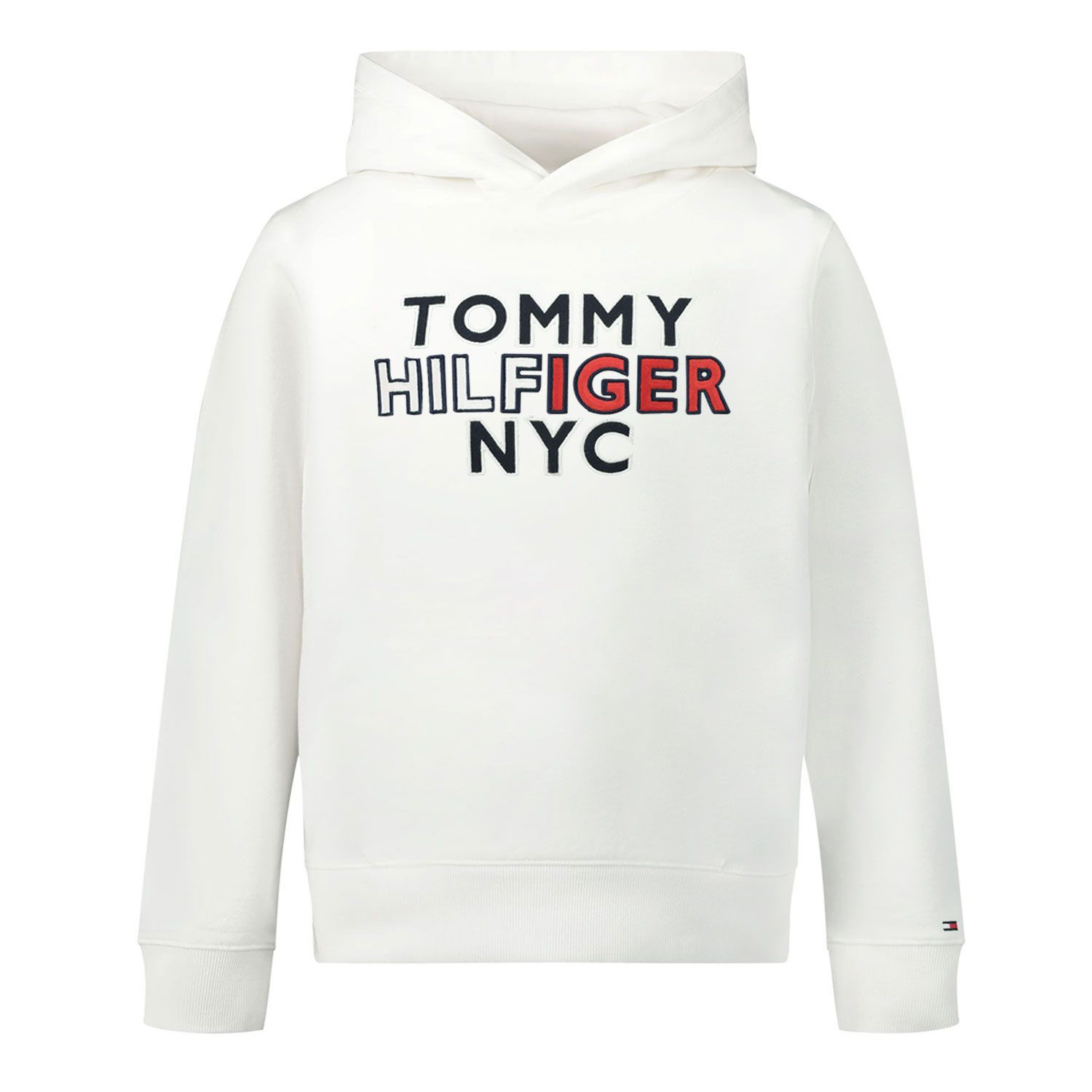 Picture of Tommy Hilfiger KB0KB05808B baby sweater white