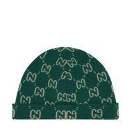 Afbeelding van Gucci 627562 kindermuts groen