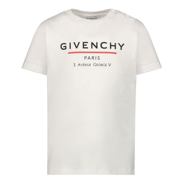 Bild von Givenchy H05164 Baby-T-Shirt Weiß