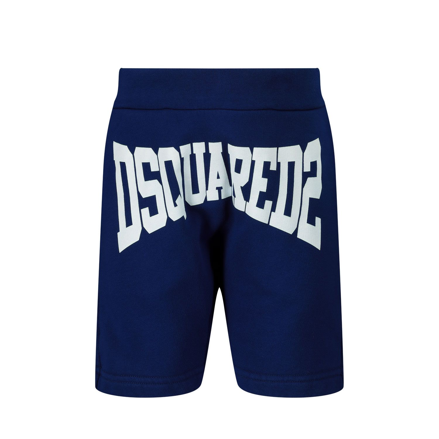 Picture of Dsquared2 DQ0226 baby shorts blue