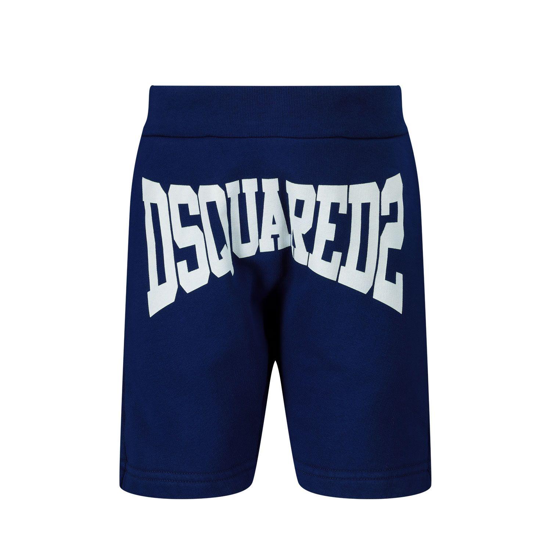 Afbeelding van Dsquared2 DQ0226 baby shorts blauw