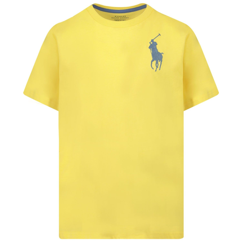 Picture of Ralph Lauren 770177 kids t-shirt yellow