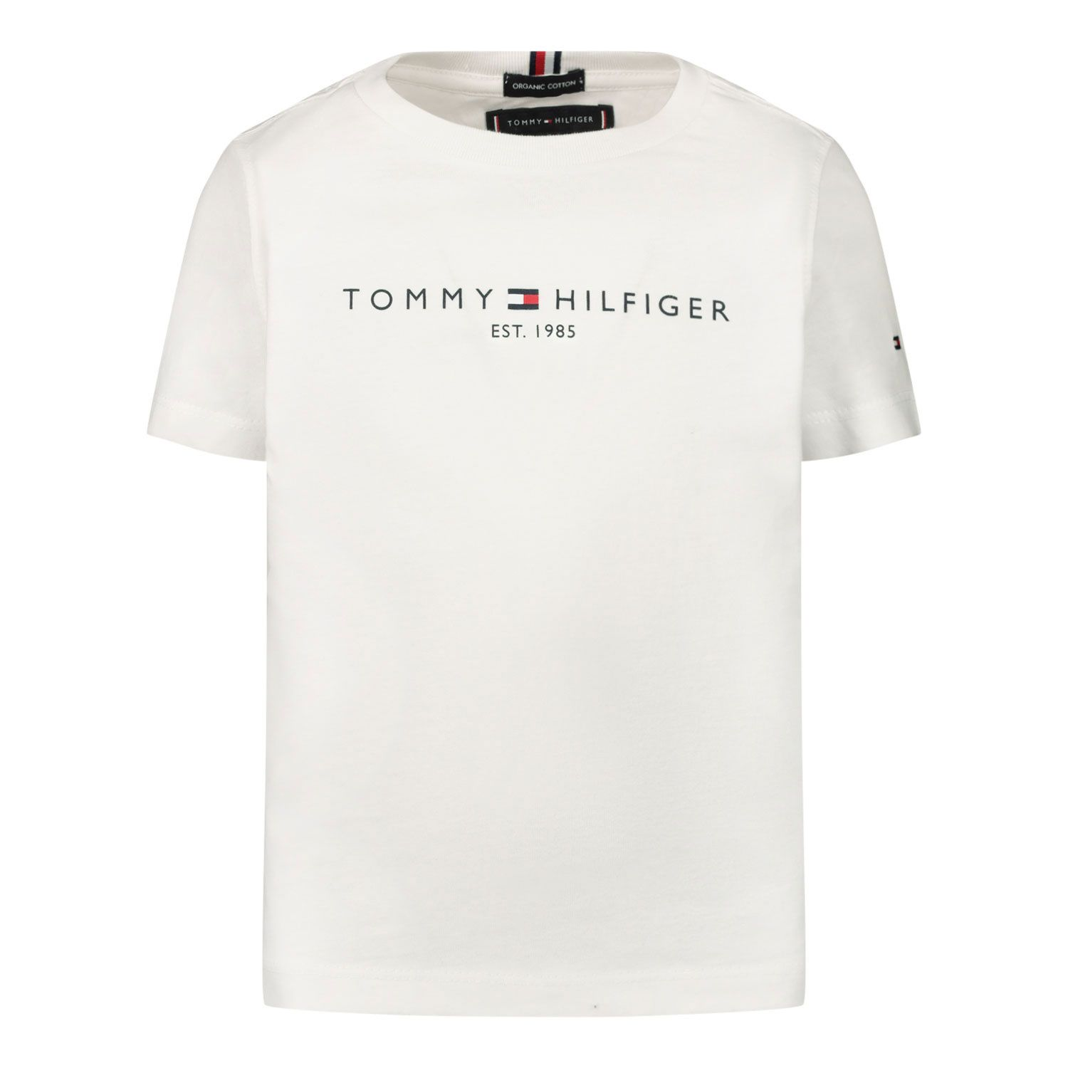 Picture of Tommy Hilfiger KB0KB05844B baby shirts white