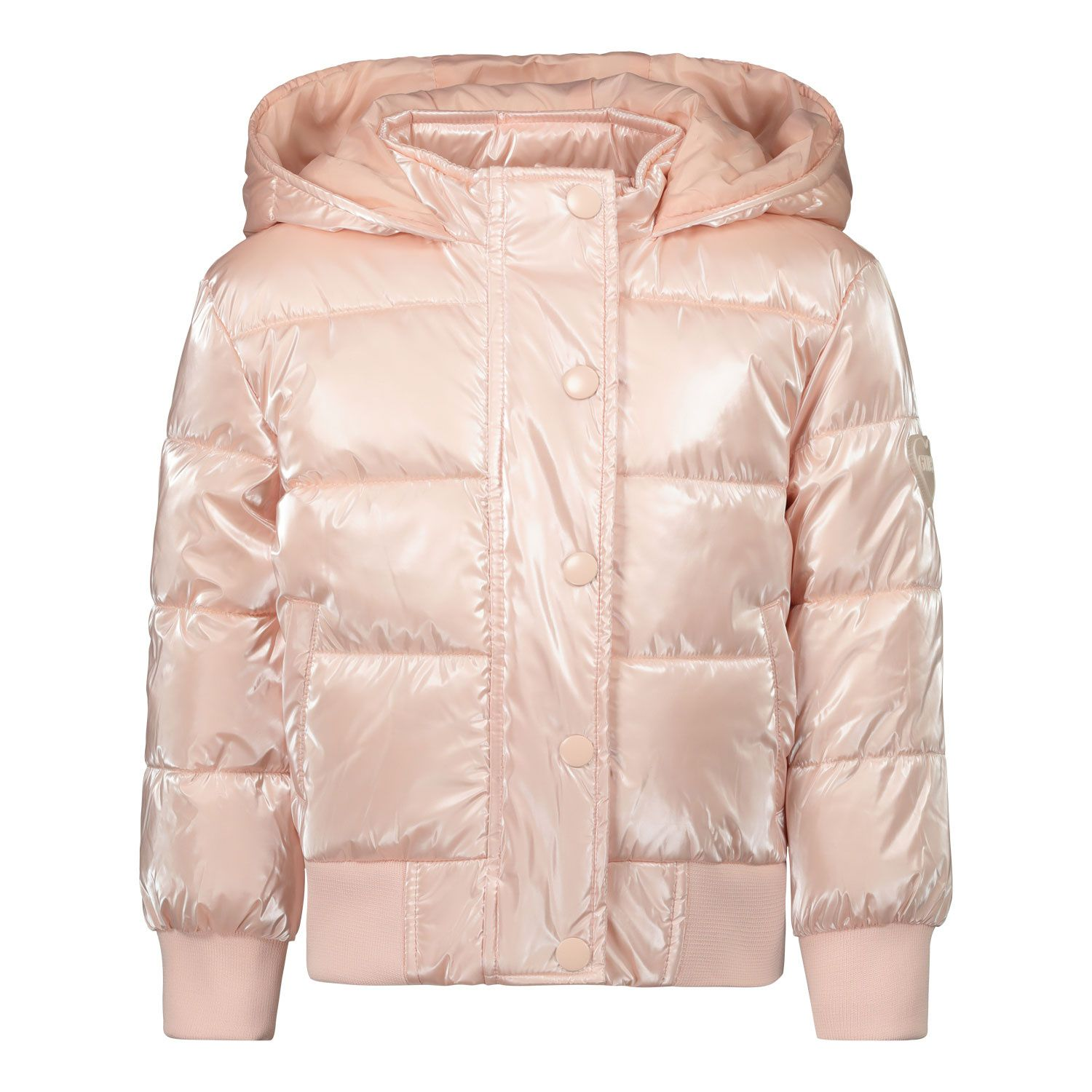 Picture of Guess K0BL03/WDCN0 kids jacket light pink